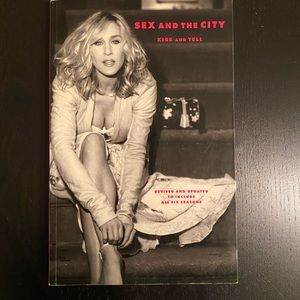 Sex and the City: Kiss and Tell coffee table book